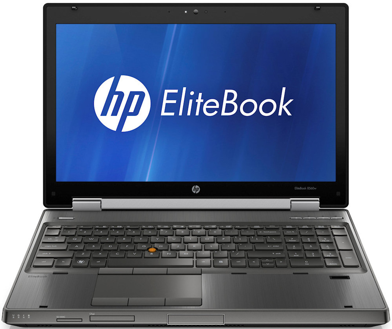 HP Compaq Elitebook 8560w Laptop Quad Core i7 2.20GHz, 8GB Ram, 250GB SSD, DVD-RW, Notebook Windows 10 Pro 64 Notebook