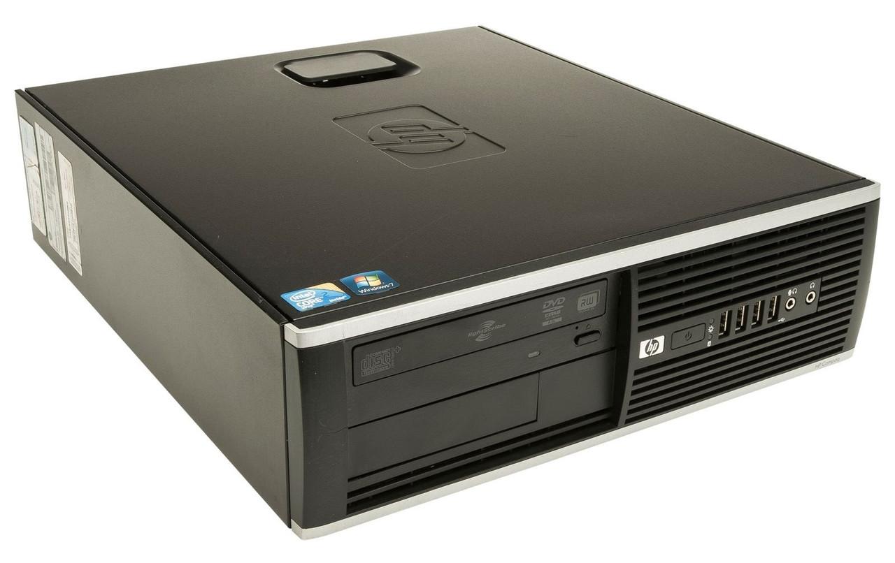 HP Compaq Pro 6200 SFF Core i3 3.3GHz, 4GB Ram, 250GB HDD, DVD-RW, Windows 10 Pro 64 Desktop Computer