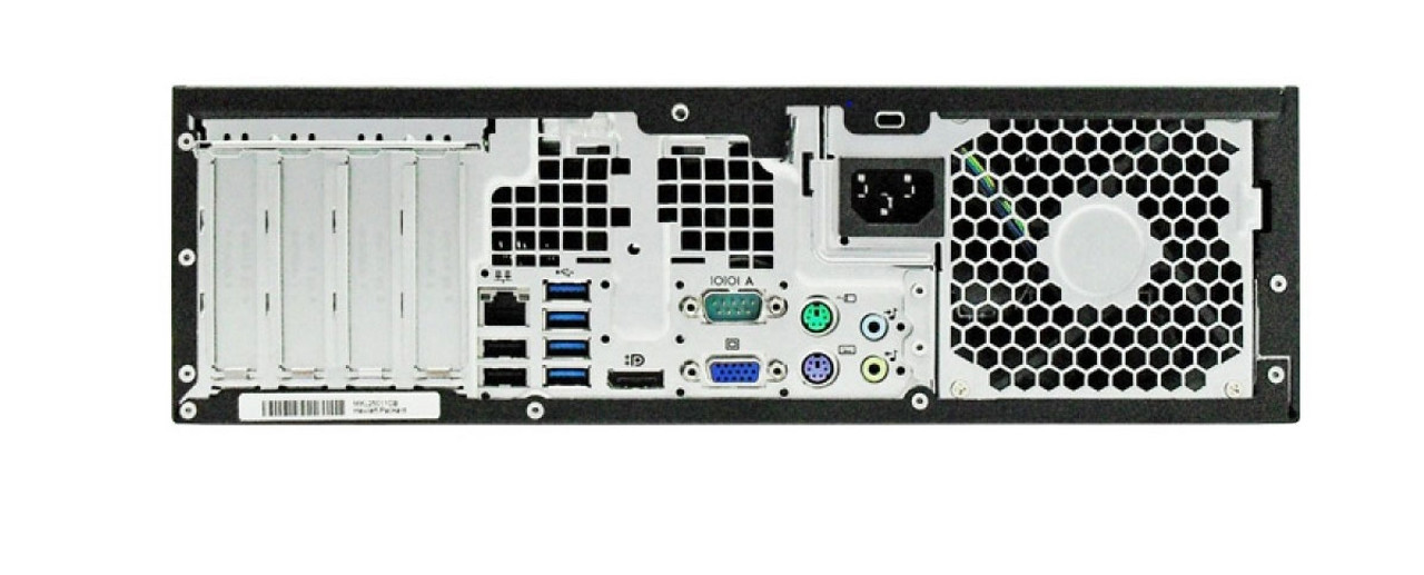 HP Compaq Pro 6200 SFF Core i3 3.3GHz, 4GB Ram, 250GB HDD, DVD-RW, Windows 10 Pro 64 Desktop Computer