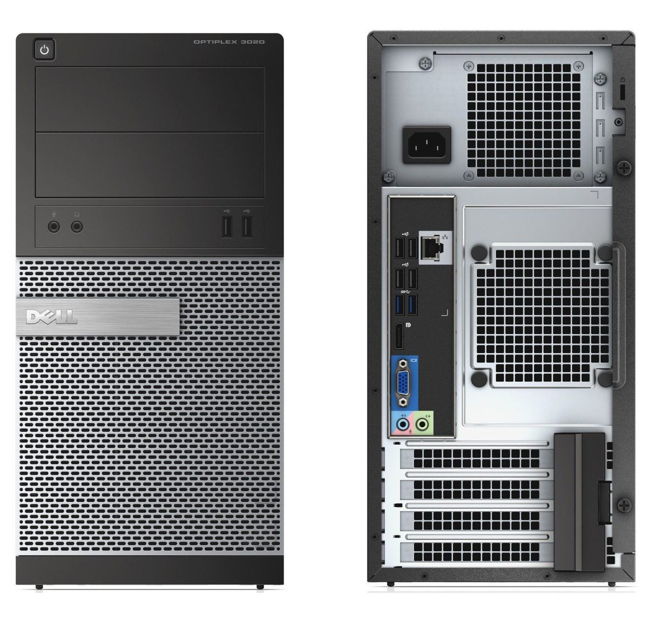 Dell Optiplex 3020 Tower Quad Core i5 3.3GHz, 8GB Ram, 500GB HDD, DVD-RW, Windows 10 Pro 64 Desktop Computer