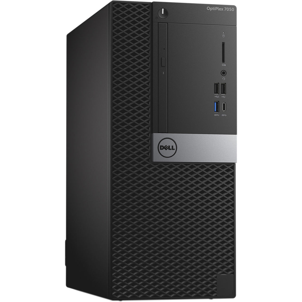 Dell Optiplex 7050 Tower Quad Core i7 3.4GHz, 8GB Ram, 500GB HDD, DVD-RW, Windows 10 Pro 64 Desktop Computer