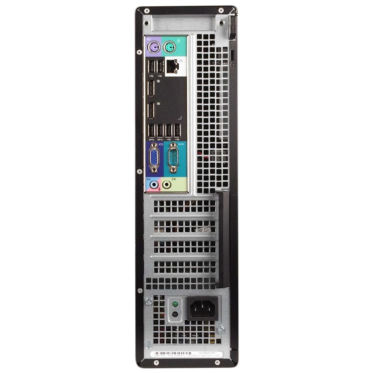 Dell Optiplex 7010 SD Quad Core i5 3.20GHz, 8GB Ram, 500GB HDD, DVD-RW, Windows 10 Pro 64 Desktop Computer