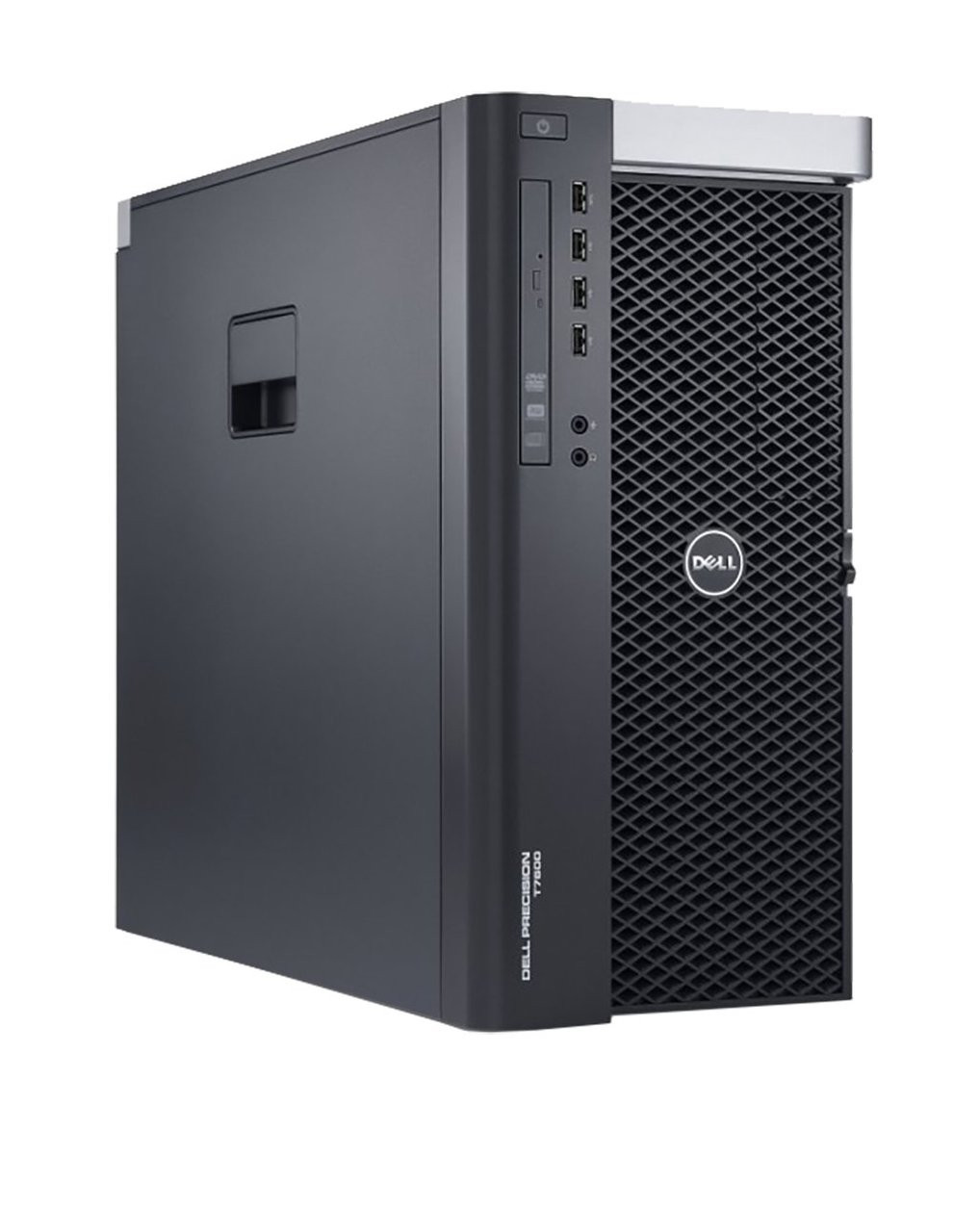 Dell Precision T7600 Tower Six Core Dual Intel Xeon 2.0GHz, 16GB Ram, 500GB HDD, DVD-RW, Windows 10 Pro 64 Desktop Computer