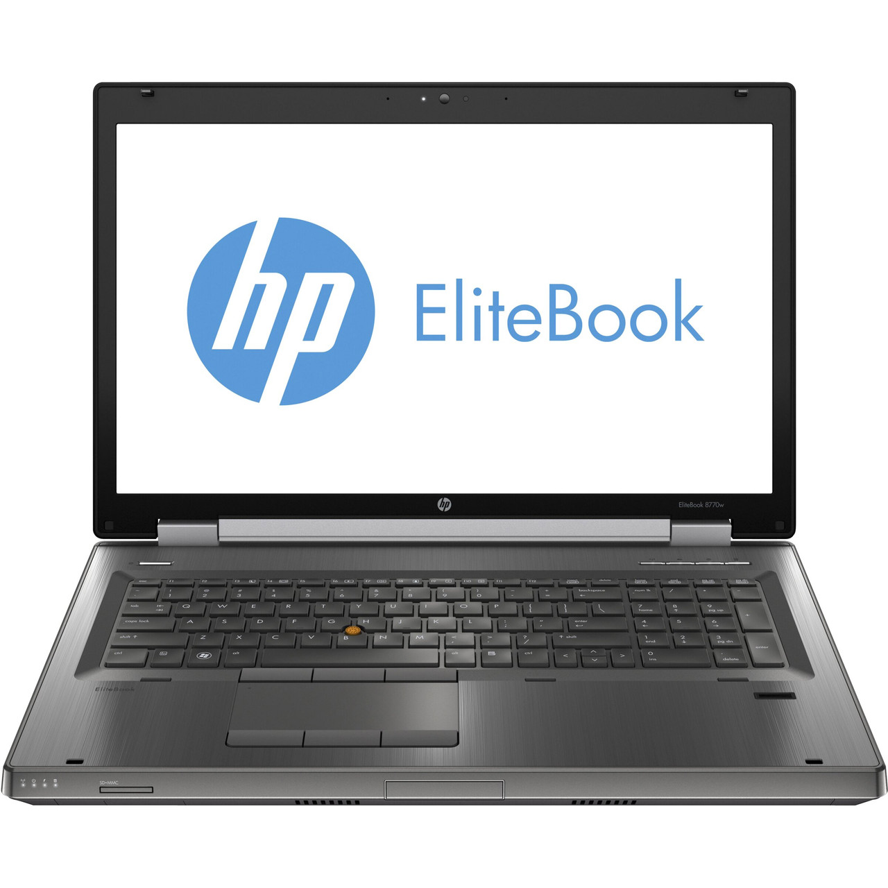 HP Compaq Elitebook 8770w Laptop Core i5 2.8GHz, 16GB Ram, 250GB SSD, DVD-RW, Windows 10 Pro 64 Notebook