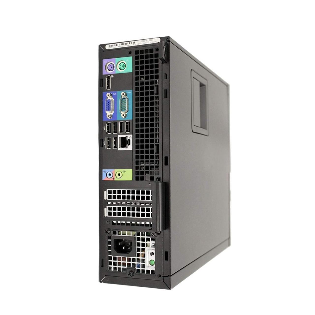 Dell Optiplex 990 SFF Quad Core i7 3.4GHz, 8GB Ram, 500GB HDD, DVD-RW, Windows 10 Pro 64 Desktop Computer