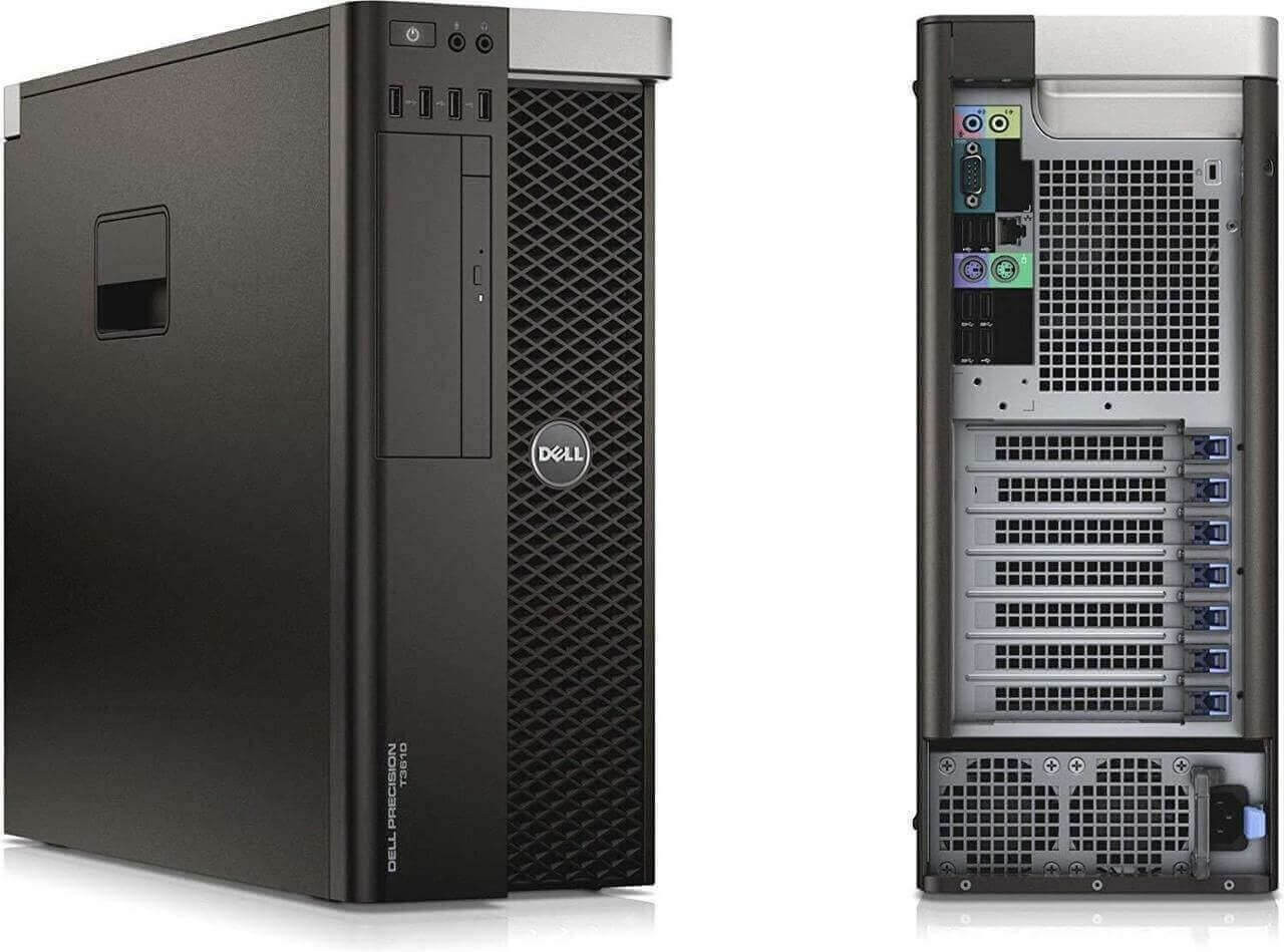 Dell Precision T3610 Tower Quad Core Intel Xeon 2.8GHz, 8GB Ram, 500GB HDD, DVD-RW, Windows 10 Pro 64 Desktop Computer