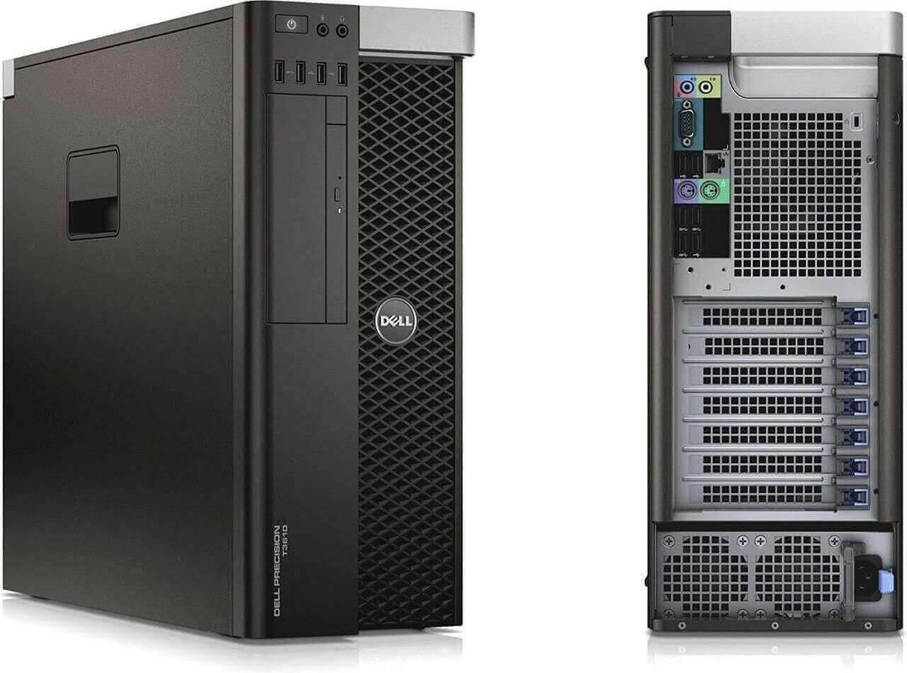 Dell Precision T3610 Tower Quad Core Intel Xeon 3.7GHz, 8GB Ram, 500GB HDD, DVD-RW, Windows 10 Pro 64 Desktop Computer