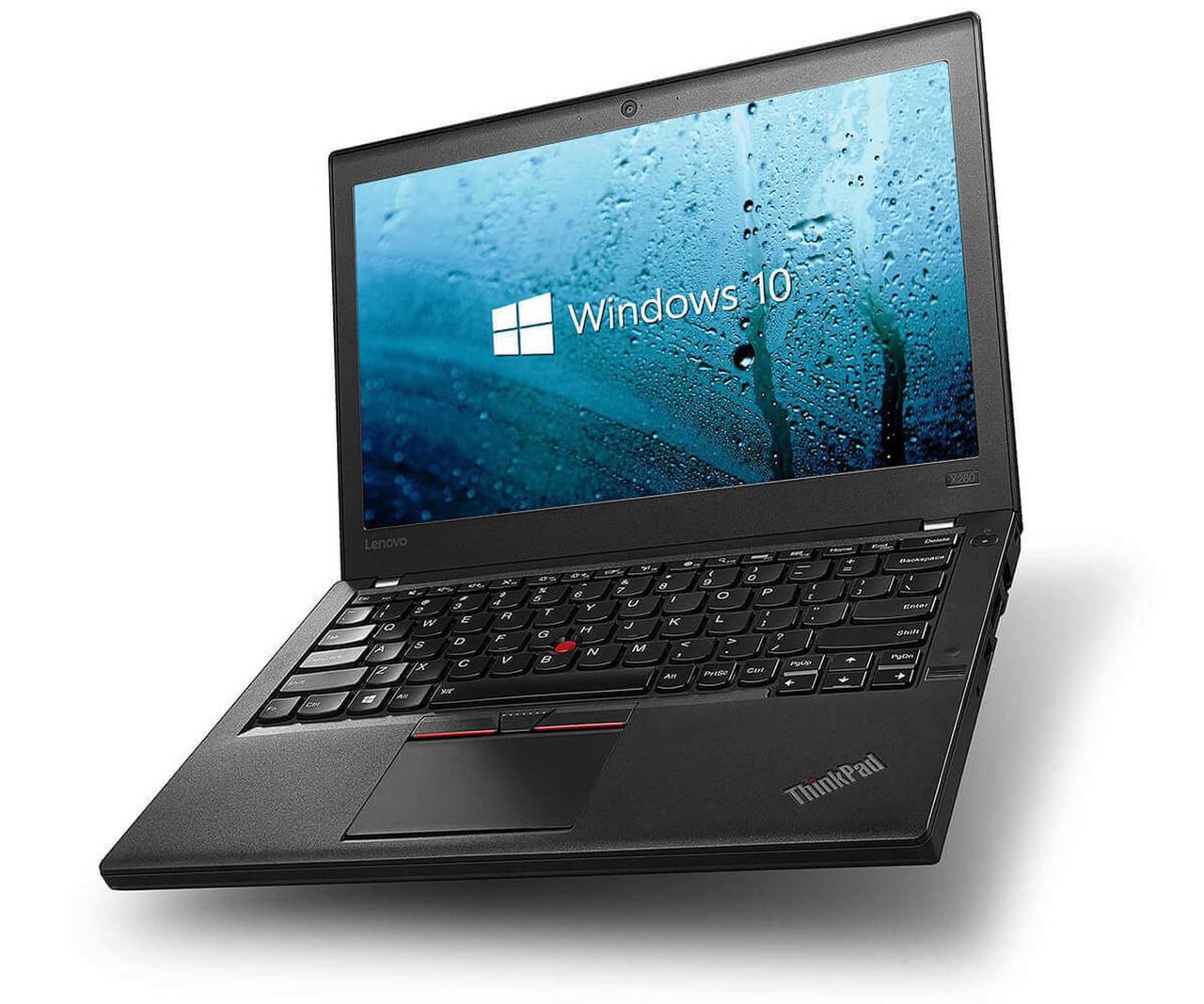 IBM Lenovo Thinkpad X260 Laptop Quad Core i7 2.6GHz, 8GB Ram, 250GB SSD, Windows 10 Pro 64 Ultrabook