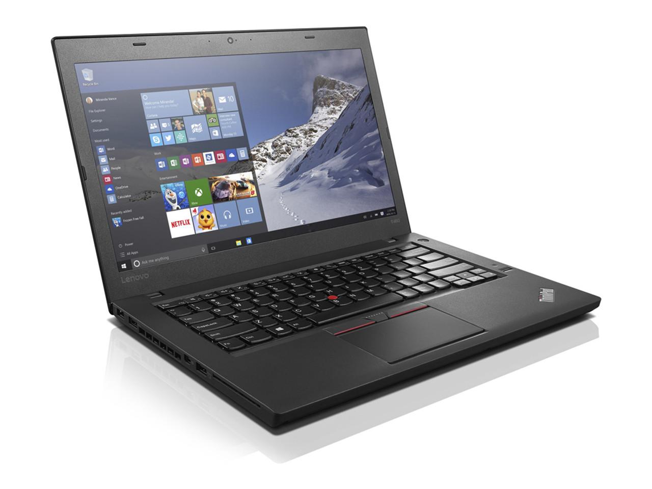 IBM Lenovo Thinkpad T460 Laptop Core i5 2.3GHz, 8GB Ram, 250GB SSD, Windows 10 Pro 64 Ultrabook Notebook