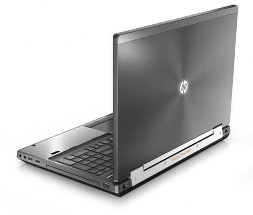 HP Compaq Elitebook 8560w Laptop Core i5 2.50GHz, 4GB Ram, 250GB HDD, DVD-RW, Notebook Windows 7 Pro 64 Notebook