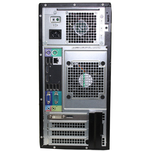 Dell Optiplex 7010 Tower Quad Core i7 3.40GHz, 4GB Ram, 500GB HDD, DVD-RW, Windows 7 Pro 64 Desktop Computer