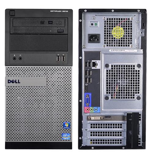 Dell Optiplex 3010 Tower Quad Core i5 3.1GHz, 8GB Ram, 500GB HDD, DVD-RW, Windows 10 Pro 64 Desktop Computer