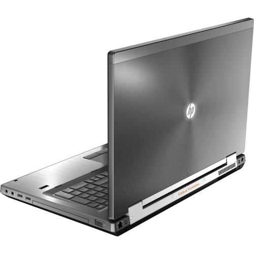 HP Compaq Elitebook 8770w Laptop Core i5 2.8GHz, 16GB Ram, 250GB SSD, DVD-RW, Windows 10 Pro 64 Notebook