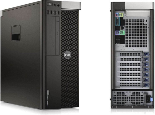 Dell Precision T3610 Tower Quad Core Intel Xeon 2.8GHz, 8GB Ram, 500GB HDD, DVD-RW, Windows 10 Pro 64 Desktop Computer