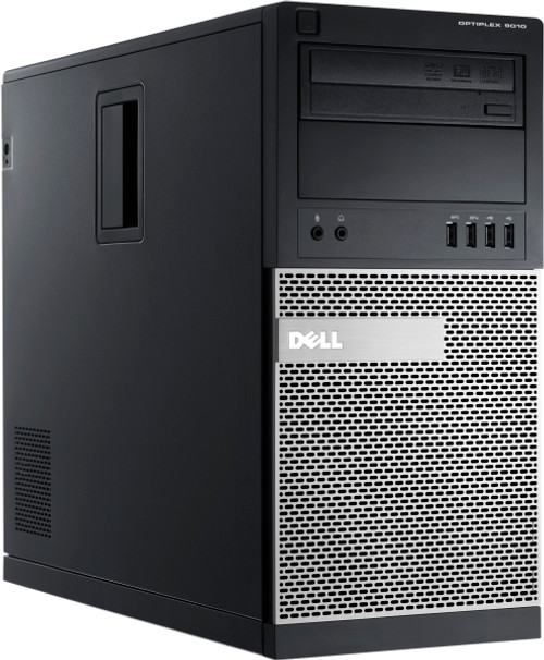 Dell Optiplex 9010 Tower Quad Core i5 3.2GHz, 8GB Ram, 500GB HDD, DVD-RW, Windows 10 Pro 64 Desktop Computer