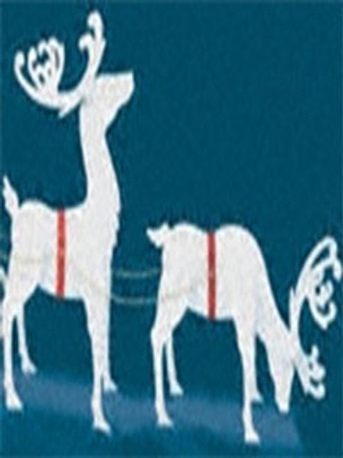 Elegant Reindeer (Medium-Small Size) Wood Pattern