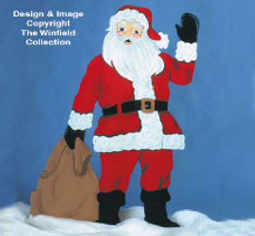 Life Size Santa Wood Pattern