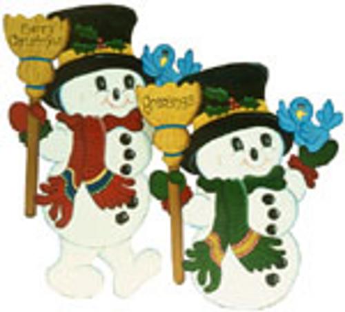 Mr. Chills & Frosty Wood Patten