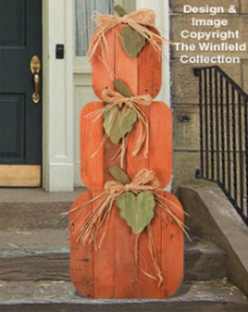 Pallet Wood Pumpkin Stack Pattern