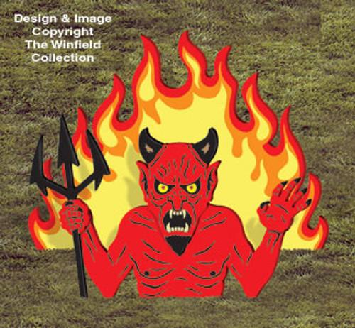 Rising Devil Wood Craft Pattern