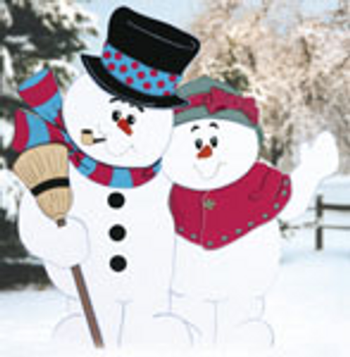 Snowy Hug Wood Pattern