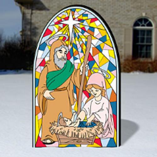 Stunning Mosaic Art, Mary & Joseph Craft Pattern
