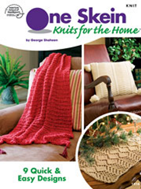One Skein Knits For The Home