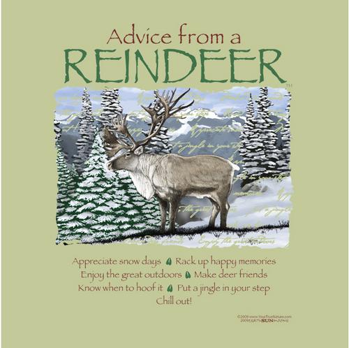 Advice From A Reindeer T-Shirt