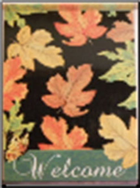 Fall Leaves Flag
