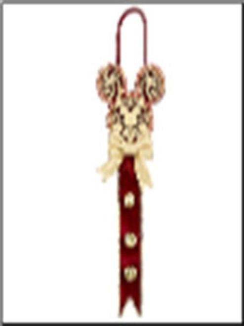 Jingle Bell Micky Mouse Door Hanger