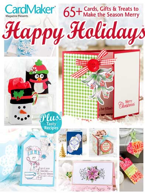 Happy Holiday Card Making Pattern Book