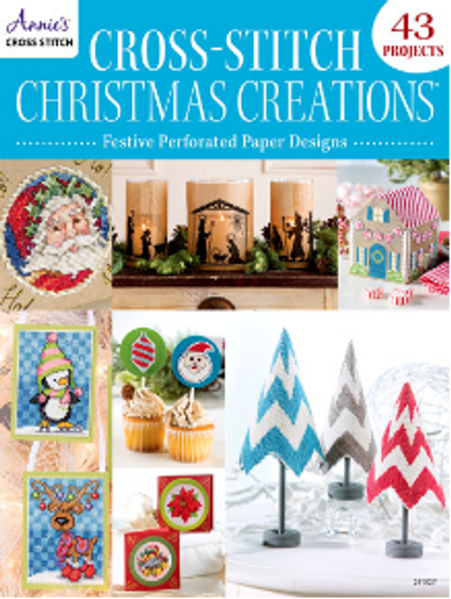 Christmas Creations Festive Cross Stitch for Perforated Paper