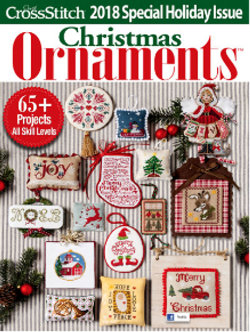 Just Crossitch Christmas Ornaments 2018