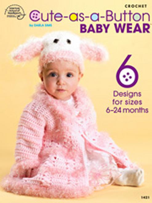 Cute as a Button Baby Wear