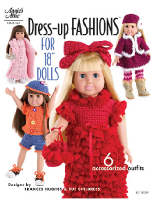 """Dress Up Fashions for 18"""" Dolls"""