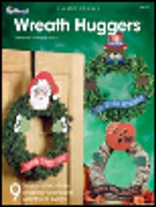 Wreath Huggers Plastic Canvas Pattern