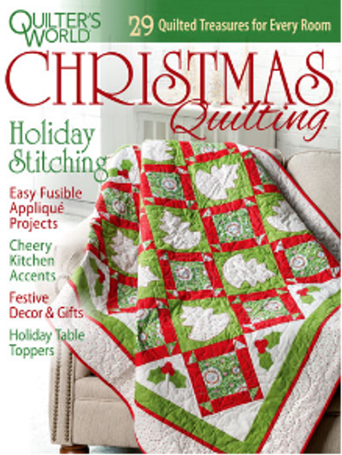 Quilters World Christmas Quilting