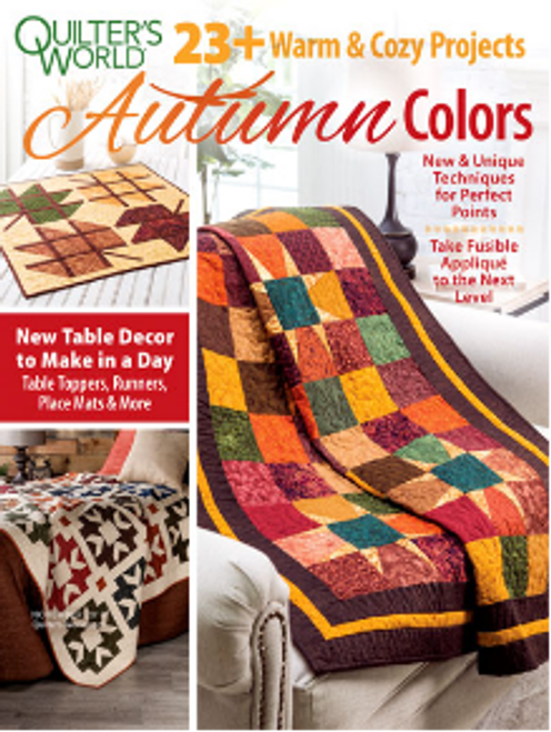 Quilters World Autumn Colors