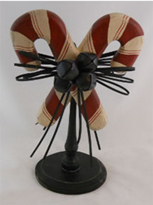 Candy Canes on a Spindle