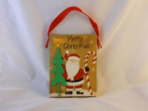 Christmas Santa Claus Light Up Hanger
