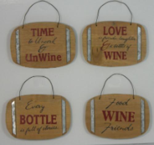 Wine Barrel Ornaments