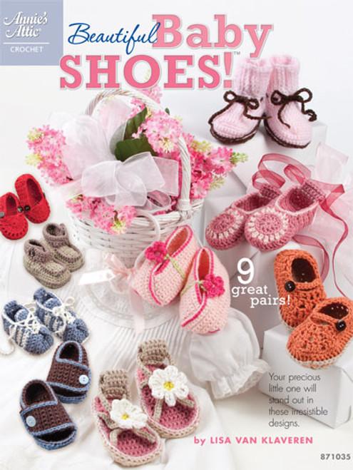 Beautiful Baby Shoes Crochet Patterns