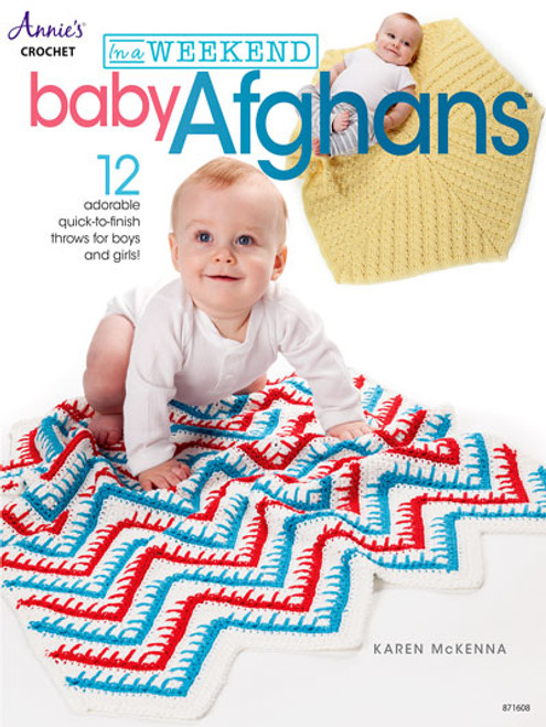 Baby Afghans - Crochet in a Weekend Patterns