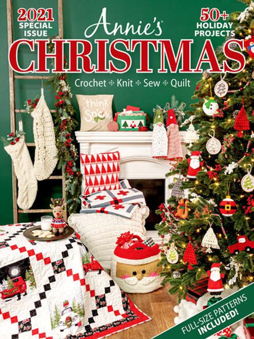 Annie's Christmas Winter 2021 Knit, Crochet, Sew & Quilt
