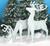 Elegant Reindeer  Wood Pattern