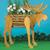 Moose Planter Wood Pattern