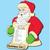 Santa Claus List Holder Craft Pattern