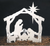 Silent Night Wood Pattern  Small Size - Stable is 49 inches Tall  Medium Size - Stable is 77 inches Tall (+$9.00)  Large Size - Stable is 118 inches Tall (+$19.00)  Click the Radio Button next to the size you want  Pricing for each size: Small Size  19.95 Medium      28.95 Large         38.95
