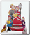 Christmas Carolers Outdoor Poster