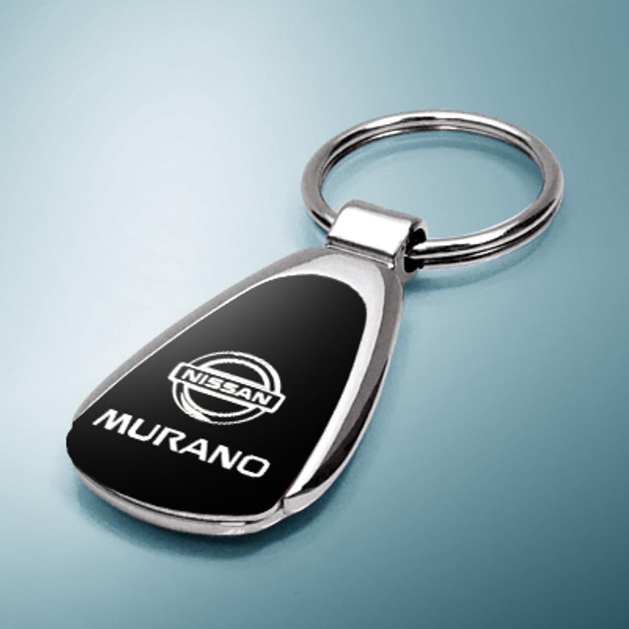 Nissan Juke Black Tear Drop Metal Key Ring